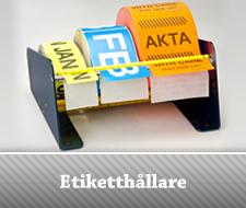 Etiketter AB - Etiketthållare
