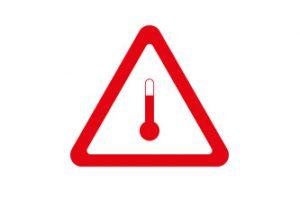 Förhöjd temperatur