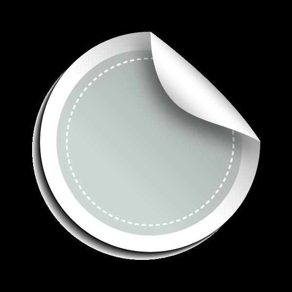 Silverfärgad (kascherad folie)